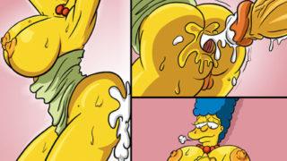 XXX Los Simpson Feliz San Valentin