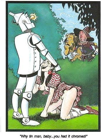 caricaturas porno